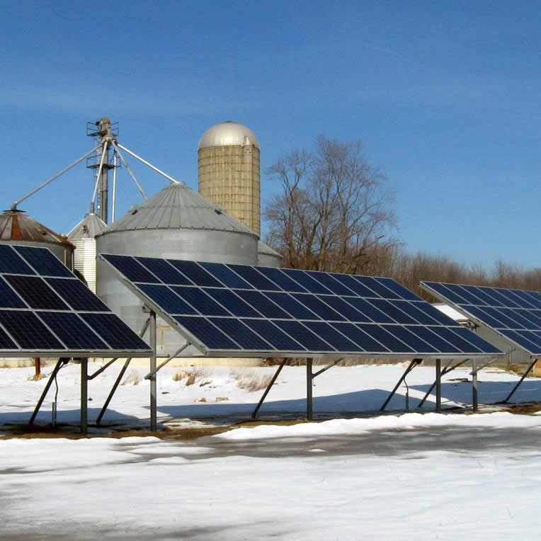 Macomb County Solar Powered Farm - Certified Organic