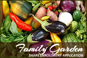 Family Garden Share Enrollment Application